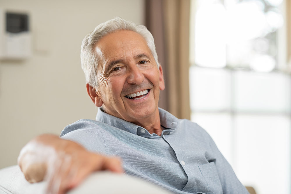 older man dental implants haverhill